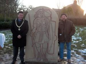 Roman Statue Launch 1